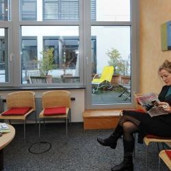 Praxis - Dr. med. Thorsten Schlenker - Wartezimmer