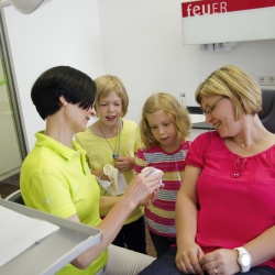 Praxis - Dr. Christina Pietruska - Behandlungszimmer