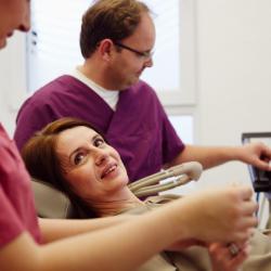 Praxis - Dr.  Silvia Rossa - Behandlung