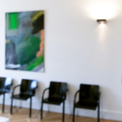 Praxis - Priv.-Doz. Dr. med. Gerhard Scheller - Wartezimmer Klitschko