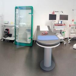 Praxis - Dr. med. Peter van Bodegom - Behandlungsraum