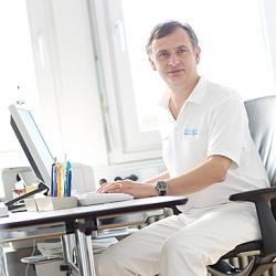 Praxis - Dr. Reinhold Reitter - Sprechzimmer